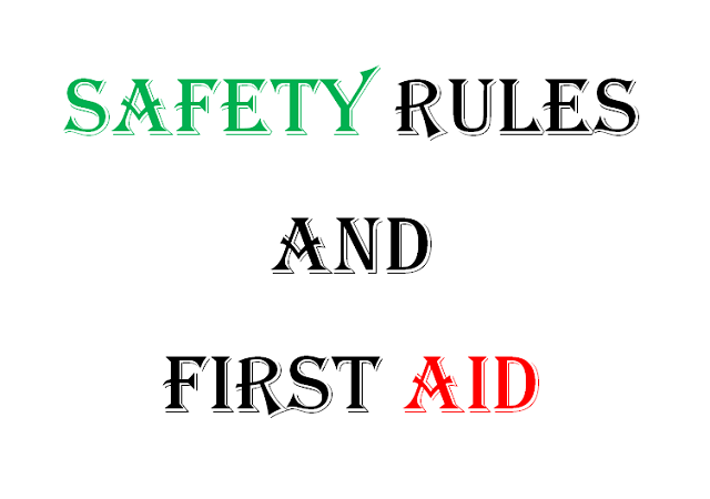 safety-rules-and-first-aid