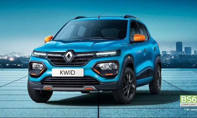 Top-cars-in-India-give-more-than-20km- mileage_Renault-Kwid